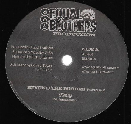 iSt3p - Beyond The Border Part 1 & 2 / Physical Step Part 1 & 2 (Equal Brothers) 12""